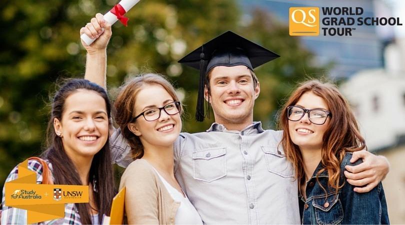 il14 Marzo partecipa al QS World Grad Tour e incontra UNSW