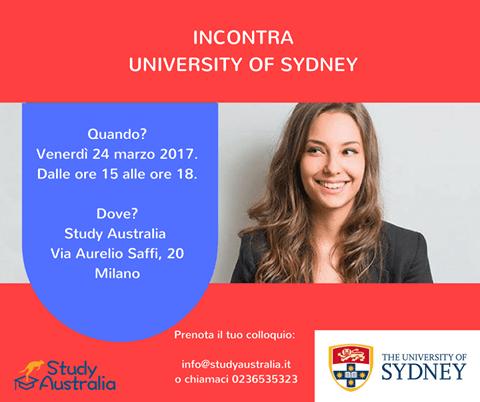 Meet university of Sydney
